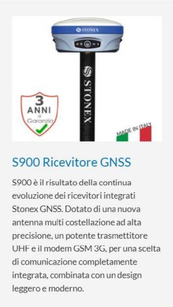 STONEX S900 RICEVITORE GNSS