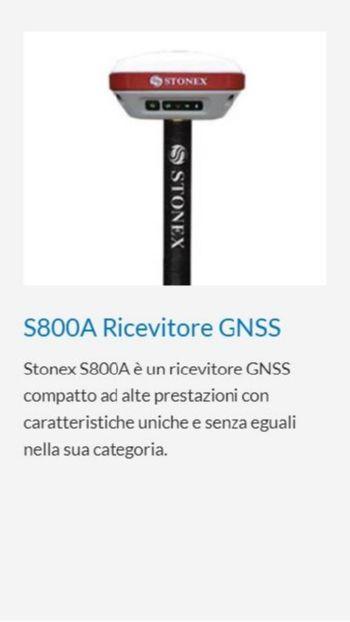 GPS STONEX S800A RICEVITORE GNSS