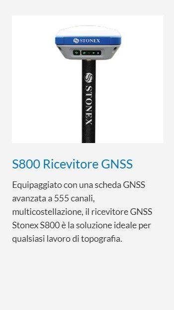 STONEX S800 RICEVITORE GNSS