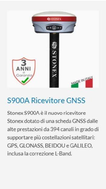STONEX S900A RICEVITORE GNSS