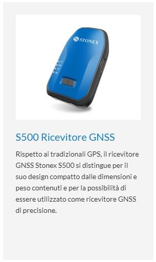 GPS S500 Stonex x Sito