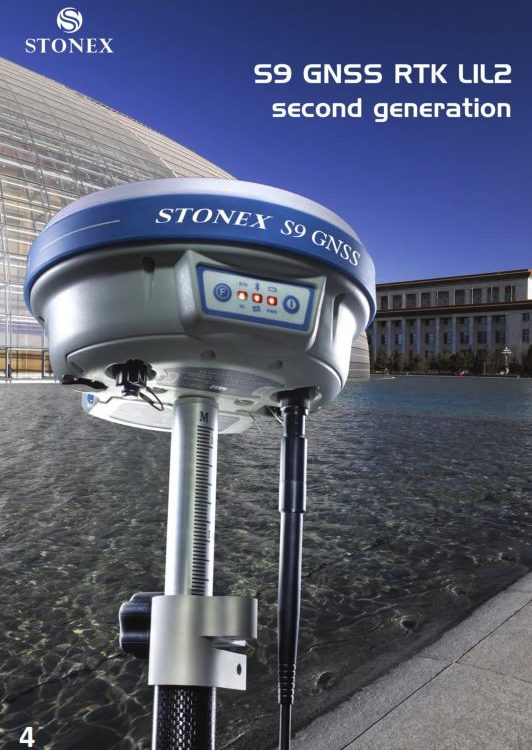 GPS Stonex S9 GNSS UHF